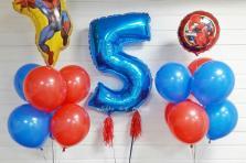 Воздушные шары на день рождения мальчику 5 лет