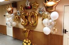 Шары на юбилей 50 лет