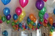 """Воздушные шары с гелием """"Металик """" 30 см."""