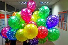 Гелиевые шары С днем рождения 35см