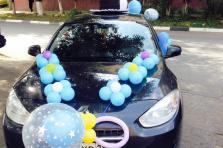 Украшение авто для встречи из роддома