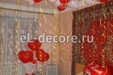 Оформление шариками квартиры