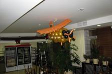 Самолет - кукурузник сделали из воздушных шаров