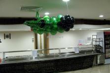 Самолет - истребитель из воздушных шаров