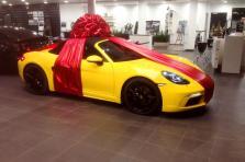 Индивидуальное оформление автомобиля в подарок