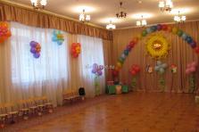 оформление выпускного в детском садике