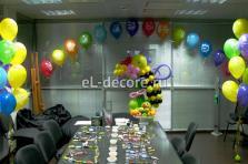 Оформление дня рождения на работе