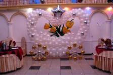 Карета из воздушных шаров