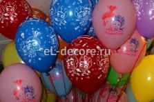 """Воздушные шары с гелием """"Фиксики"""" (полет шара от 3 дней и более)"""