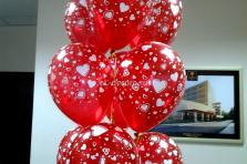 """Гелиевые шары """"Любовь"""" (полет шара от 3 дней и более)"""