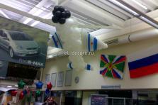 Фигура из воздушных шаров Самолёт