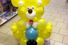 """Фигура из воздушных шаров """"Медвежонок"""""""