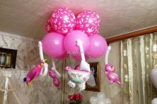 """Фигура из воздушных шаров """"Мобиль"""""""