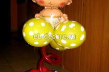 """Фигурка из воздушных шаров 'Малыш"""""""