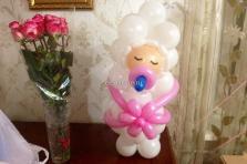 Малышка из воздушных шаров