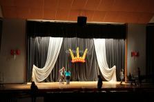 РАНХиГС оформление воздушными шарами сцены для конкурса красоты