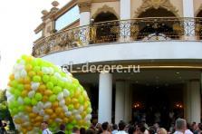 """Запуск 1000 воздушных шаров в небо. Дом торжеств """"Safisa"""""""