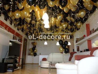 Шары под потолок на день рождения