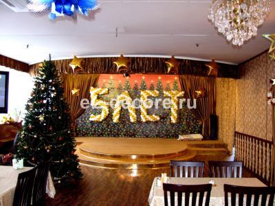 "Украшение шарами в ресторане ""Островок Ретро"" 4 символа"