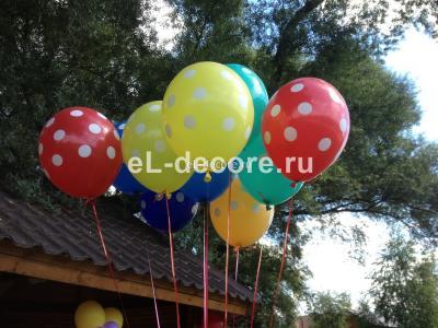 """Воздушные шары """"Горошек"""" (полет шара от 3 дней и более)"""