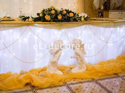 """Оформление свадьбы в ресторане """"Меридиан"""""""