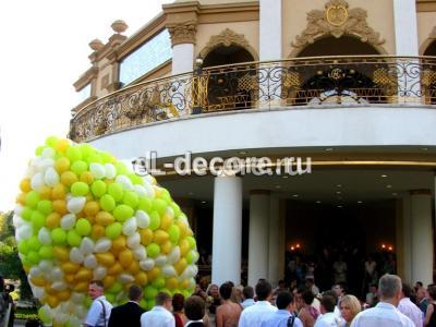Воздушные шары с гелием 1000 шт. К запуску готовы!