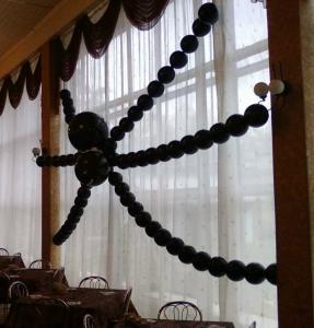 Пауки из воздушных шаров
