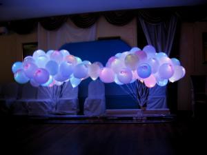 Запуск самых ярких светящихся шаров на свадьбу!