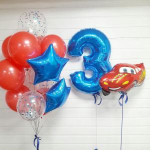 Шарики на день рождения мальчика