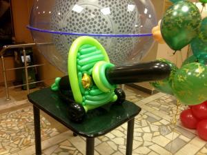 Пулемёт из шаров