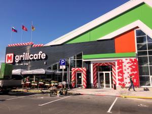 Оформление кафе M'grillcafe