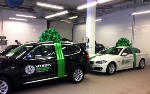 """Подарочный бант на автомобиль """"Green"""""""
