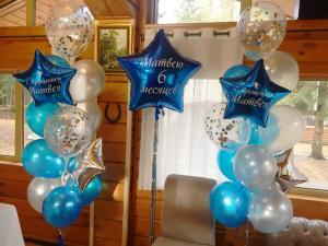 Воздушные шары на крещение.
